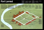 Schematic Map of Fort Larned National Historic Site, Kansas, United States