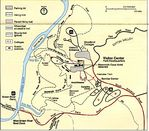 Detail Map of Mammoth Cave National Park, Kentucky, United States