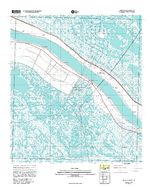 Pointe a la Hache, Topographic Map Prototype, Louisiana, United States, September 12, 2005