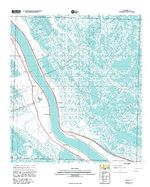 Phoenix, Topographic Map Prototype, Louisiana, United States, September 12, 2005