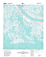 Port Sulphur, Topographic Map Prototype, Louisiana, United States, September 12, 2005