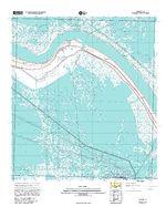 Mapa del Camino de Santa Fe, Estados Unidos Occidental