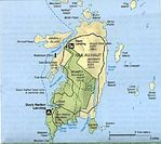 Isle au Haut Detail Map, Maine, United States