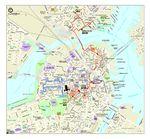 Mapa Histórico de Boston, Massachusetts, Estados Unidos