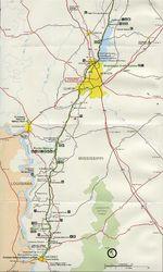 Catalonia road map