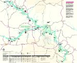 Ozark National Scenic River Park Map, Missouri, United States