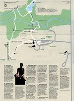 Park Map of George Washington Carver National Monument, Missouri, United States