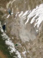 Tormenta de polvareda en Nevada