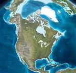 Actual tectonic structure of North America