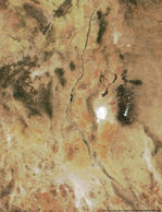 Satellite Image, Photo of the Iberian Peninsula