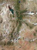 Incendios en Utah (seguimiento satelital de la tarde)