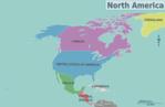 Mapa Político de Norteamérica