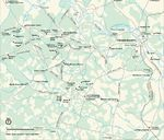 Historical Area Map of Fredericksburg and Spotsylvania National Military Park, Virginia, United States