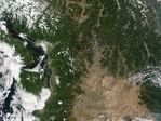 Image, Foto Satelite Area de Puerto Principe, Haiti