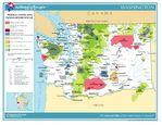 Mapa de Relieve Sombreado de Kazajistán