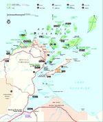 Mapa de la Densidad Poblacional de Omán