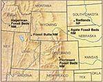 Mapa de las divisiones Administrativas de Bolivia