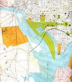 Mapa del Distrito de Columbia 1901