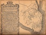 Charleston City Map, South Carolina, United States 1780