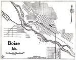Mapa del Monte Carmelo Parte Norte, Israel 1912