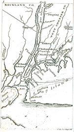 Ciudad de Nueva York Región Mapa Mapa, Nueva York, Estados Unidos 1830