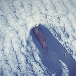 Satellite Image, Photo of Guadalupe Island, Baja California North, Mexico