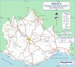 Mapa Político Pequeña Escala de Côte d'Ivoire