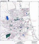 Mapa de Granada, Nicaragua
