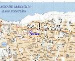 Managua Partial Map, Nicaragua 2