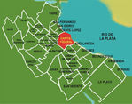 Philadelphia City Map, Pennsylvania, United States