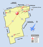 Mapa Político Pequeña Escala de Venezuela