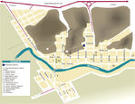 Mapa de la Ciudad de Gaborone, Botsuana
