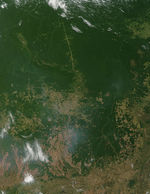 Fires in northern Argentina