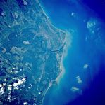 Imagen, Foto Satelite de Caravelas, Bahia, Brasil