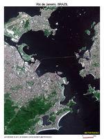 Imagen, Foto Satelite de Rio de Janeiro, Brasil