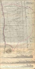 Mapa Político Pequeña Escala de las Islas Midway, Estados Unidos