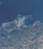 Imagen satelital de la región de Madrid 2003