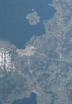 Satellite Image, Photo of Puerto Montt, Chile