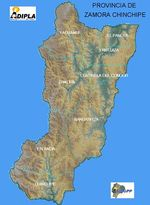 Political Map, Misiones Province, Argentina