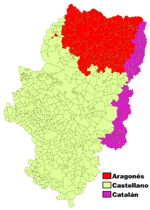 Languages of Aragon 2005