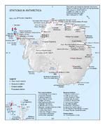 Mapa de la República Argentina, América del Sur