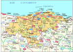 Cantabria Road Map