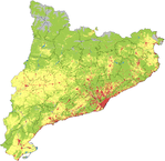 Catalonia land use