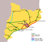 Trains of Catalonia 2008