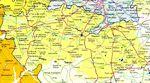 Mapa de la Provincia Toledo, España