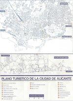 Alicante City Map, Spain