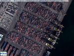 Satellite Image, Photo of Barcelona Port, Spain