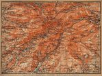 The Cantal Map, France 1914