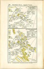 Planos de los Foros Romános (Republicano - Imperial) y sus Cercanías, Roma